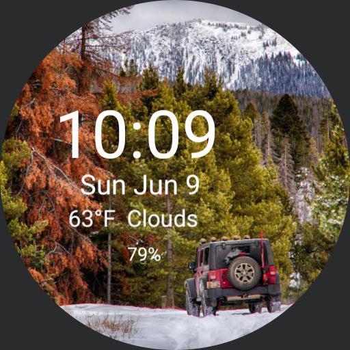 Granite Jeep