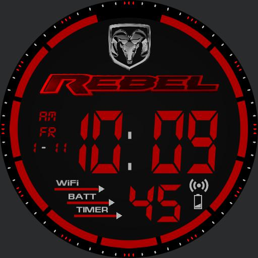 Dodge Ram Rebel Watch