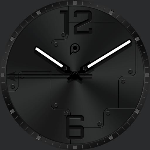 PREMIUM_STEEL Watch Face
