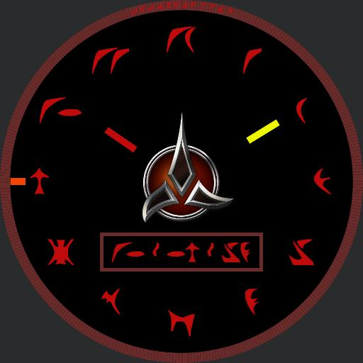 Klingon watch