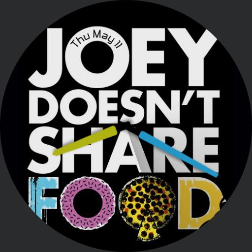 Joey doesnt share food