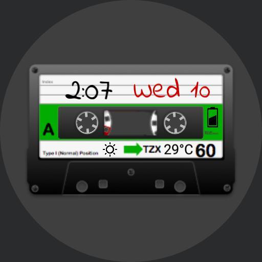 Cassette tape alive