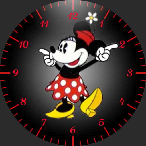 Minnie - animated red