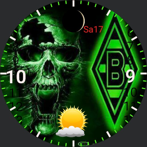 Skull BMG watch