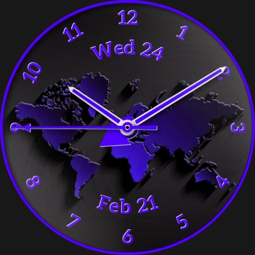 Purple Time Zones