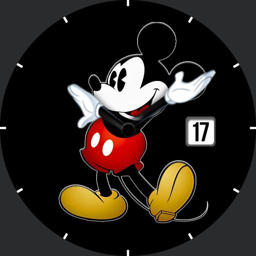 Mickey Round DimBW noRed
