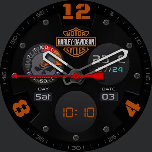 Harley Davidson v2.0 black copy