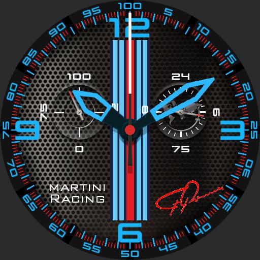 carrera martini racing