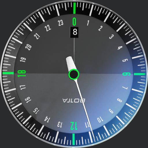 botta Watch une aiguille