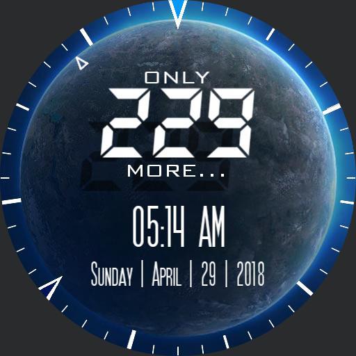 College Countdown earth