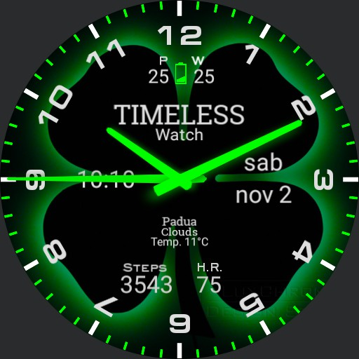 Timeless watch GREEN