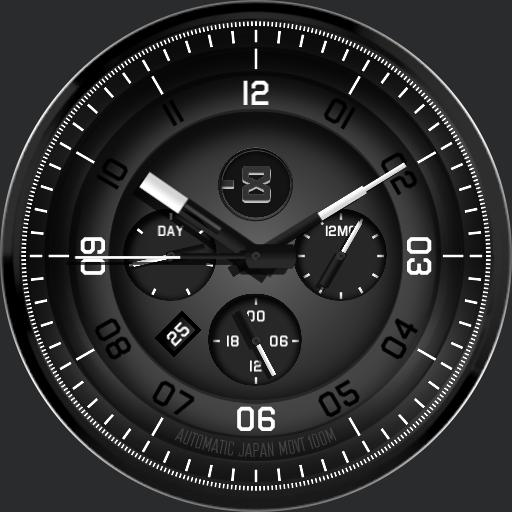 MINUS-8 Layer 24 Metal Black