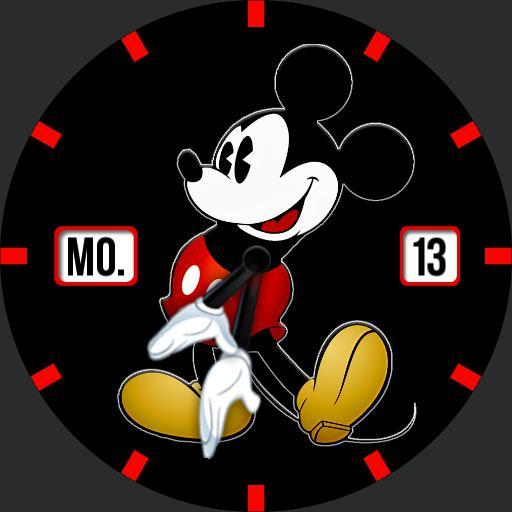 Mickey Round DimBW