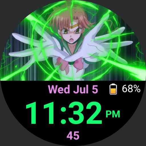 Sailor Jupiter attacks