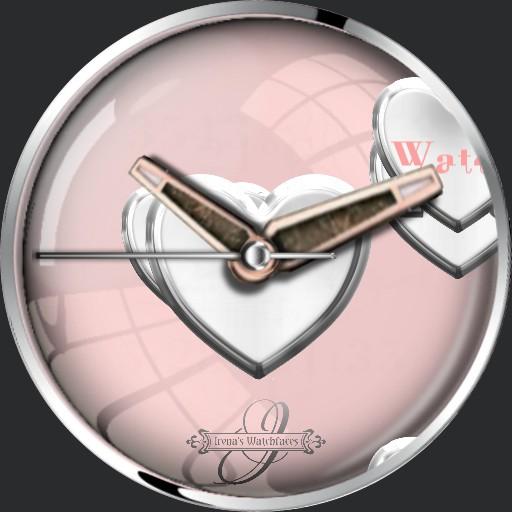 love my Watch 3 Seiten Face Zeiger
