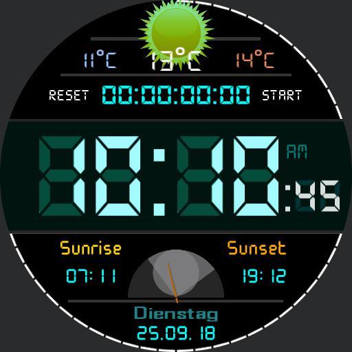 The Digital Symphonie Sun-Timer