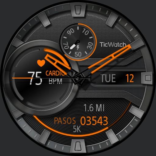 Ticwatch Heartbeat UC Espanol