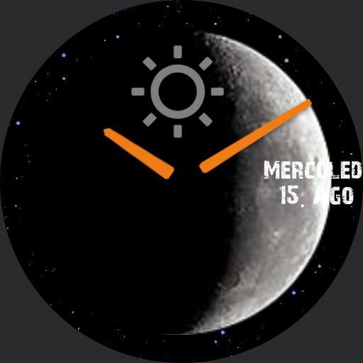 Full Moon Analog Simple German Days Copy