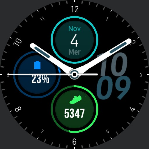 samsung galaxy watch 3 watch face date