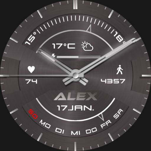 Alex Segment Real 3D Steel II