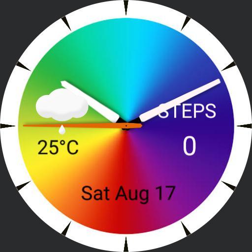 rainbow wrist