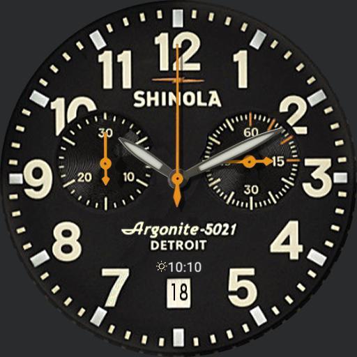 Shinola Runwell Chronograph weather Copy