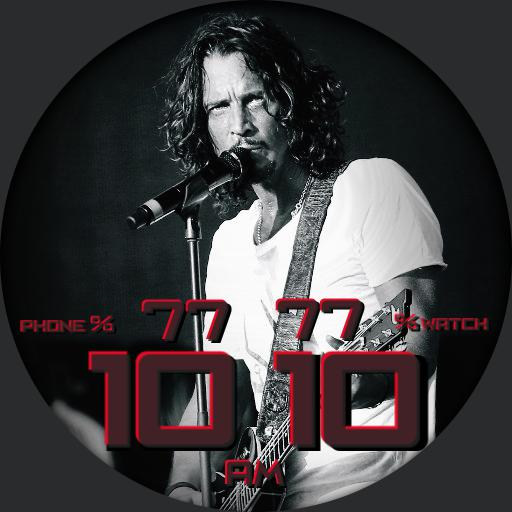 Ucolor - Chris Cornell - Rotate Watch Face