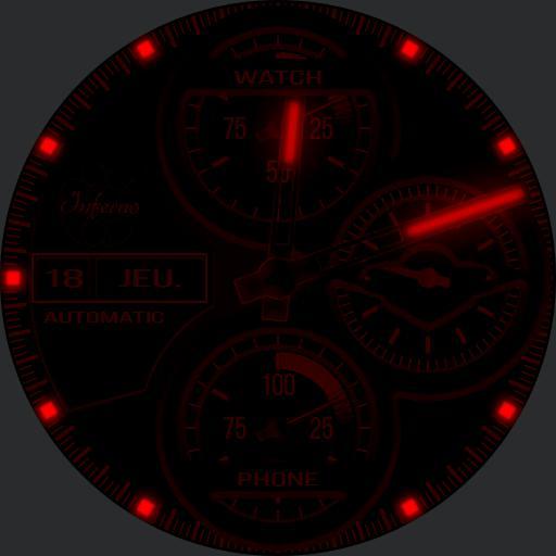 Inferno Mark I Black  Red Ed.