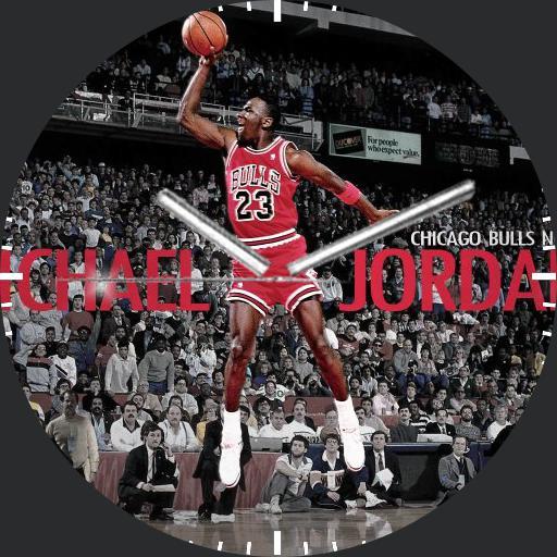 Michael Jordan watch face