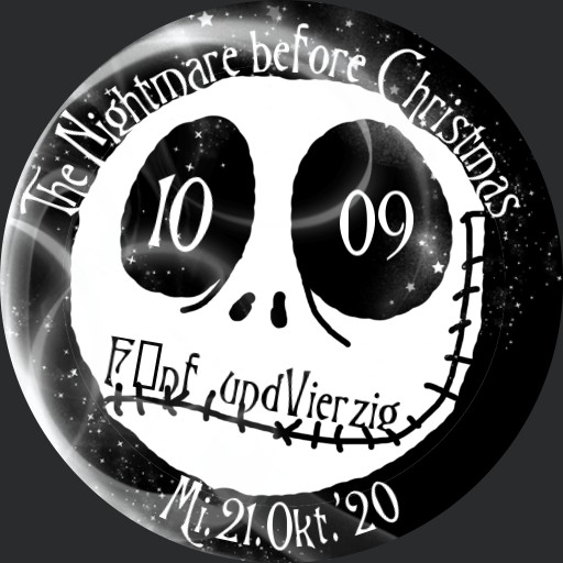 The Nightmare before Christmas Smile Deutsch