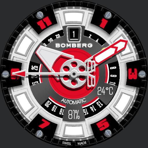 Bomberg Bolt-68 Steel  ucolor Sapphire