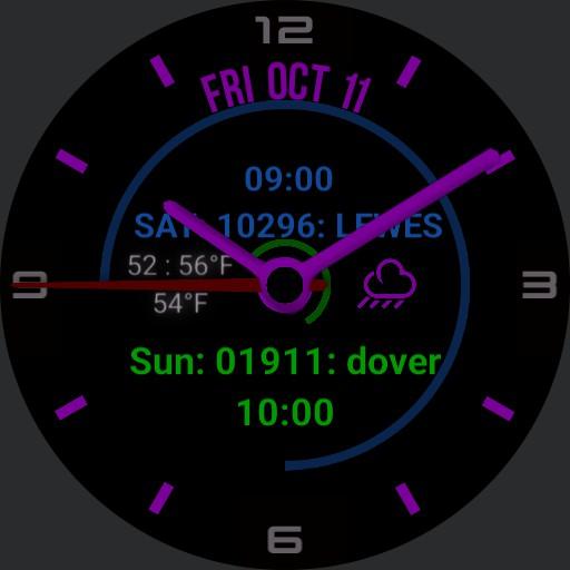 purple watch Copy