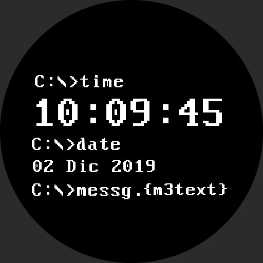 Calendar Watch  nr. msg and timer luncher v.1 Copy