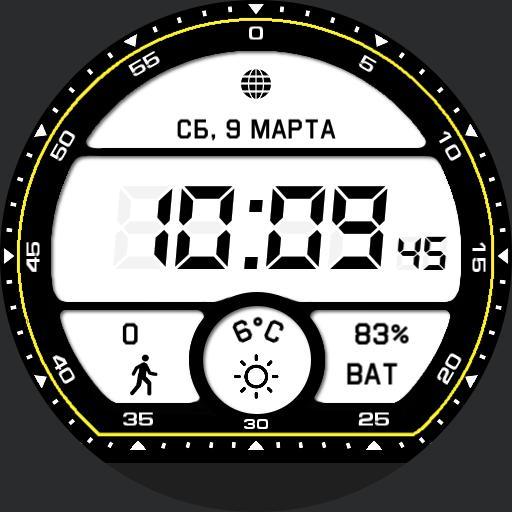 Digital LCD Moto 360 Sport