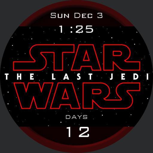 last Jedi countdown