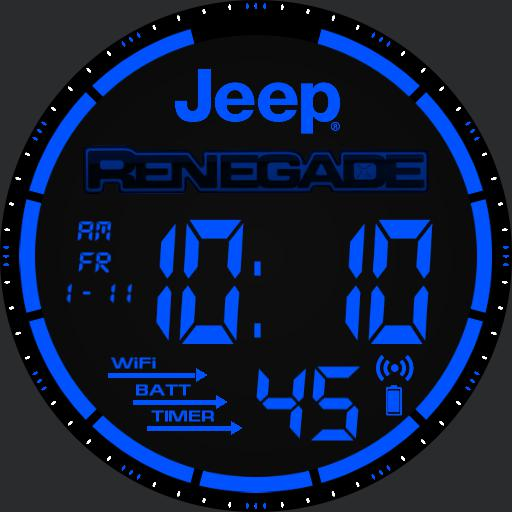 Jeep Renegade Watch Blue