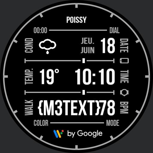Benolf Ticwatch Wear OS grid III