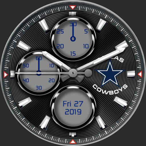 Dallas Cowboys Chrono