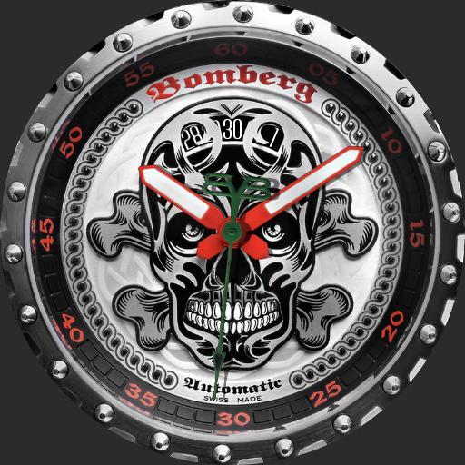 Bomberg Bolt 68 Skull Edition