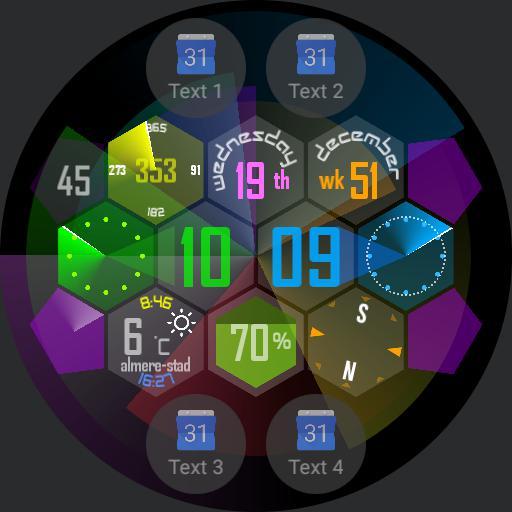Honeycomb widgets Larz B
