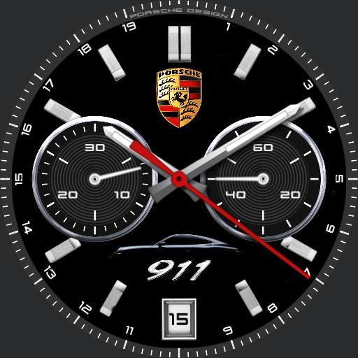 Porsche Black 911