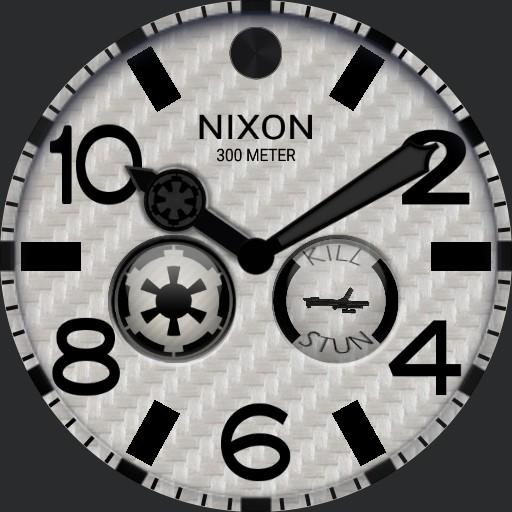 Nixon stormtrooper carbon