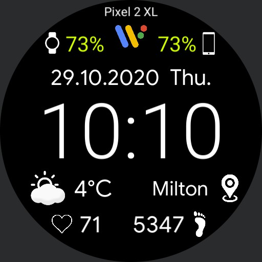 Pixel Watch v2 - JTW