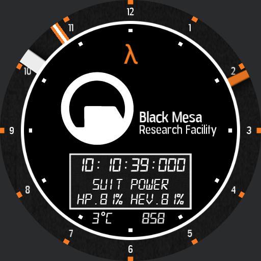 Black Mesa Clock Device