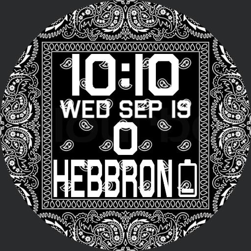Black bandana Hebbron