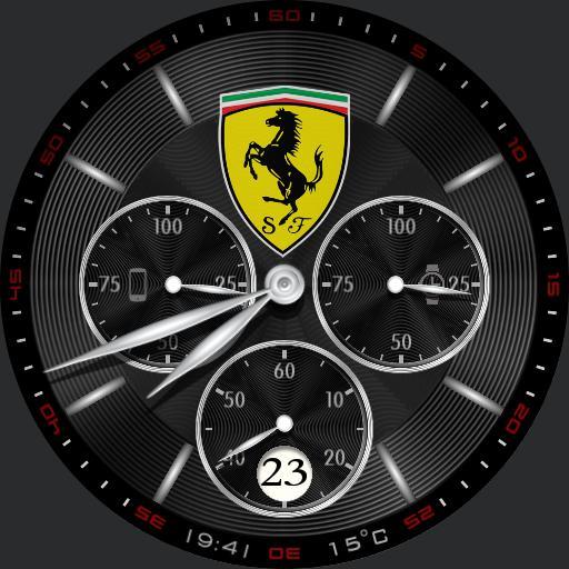 Dressy Silver Ferrari Copy