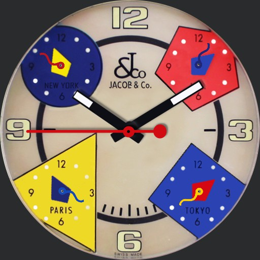 Jacob  Co - 5 Timezones