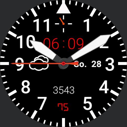 Flieger , Pilot watch, UTC Copy