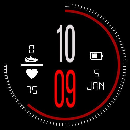 Amazfit Bip/pace - WatchMaker Watch Faces
