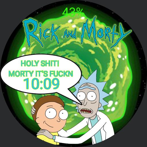 Rick and Morty Mark 1.0 Copy